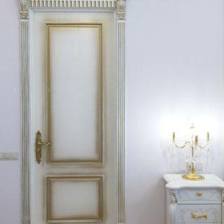 Межкомнатная дверь в спальне