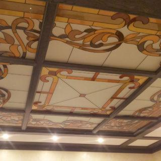 Потолок мозаика